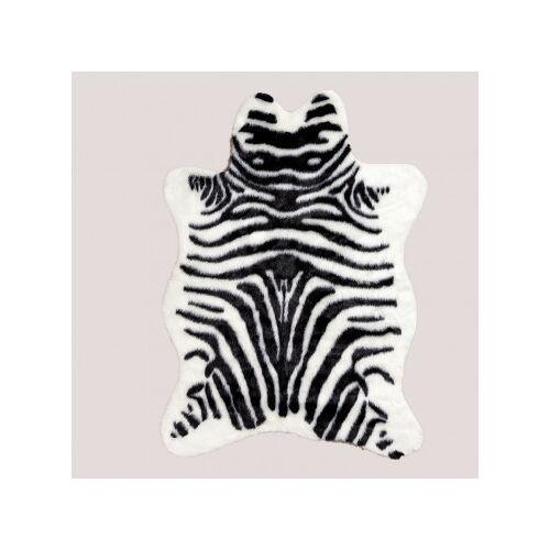 SKLUM Teppich aus Kunsthaar Mister Zebra Zebra Print Sklum