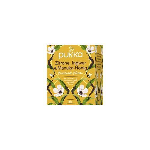 Pukka Bio-Tee Zitrone, Ingwer & Manuka-Honig