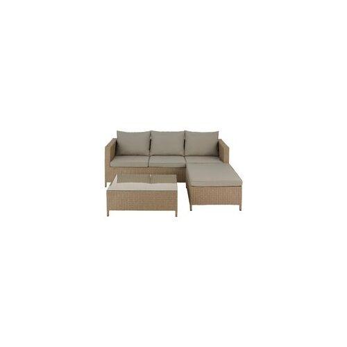 BODESARI RATTAN Lounge-Sofa-Set Polyrattan