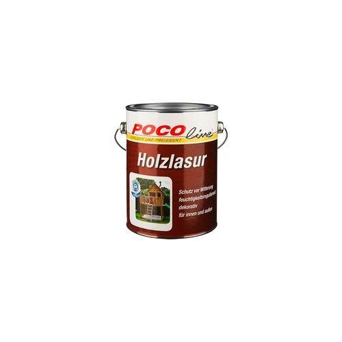 Pocoline Acryl Holzlasur Teak Ca. 2,5 L