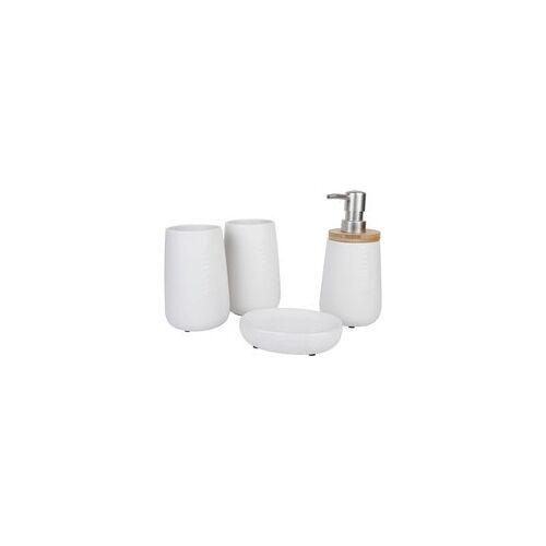 Poco Badset Weiß Keramik