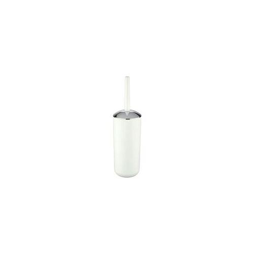 Poco Wc-garnitur Weiß Silber Kunststoff