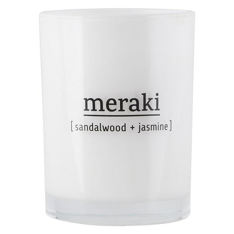 Meraki Scented Candle, Sandalwood & Jasmin