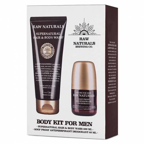 Raw Naturals Body Kit For Men