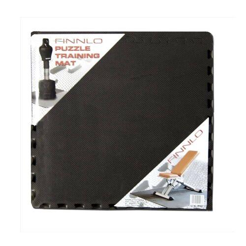 Finnlo Bodenschutzmatte Puzzlematte 185 x 120 cm schwarz