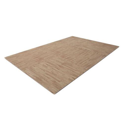 Finnlo Bodenschutzmatte Puzzlematte 185 x 120 cm Buche