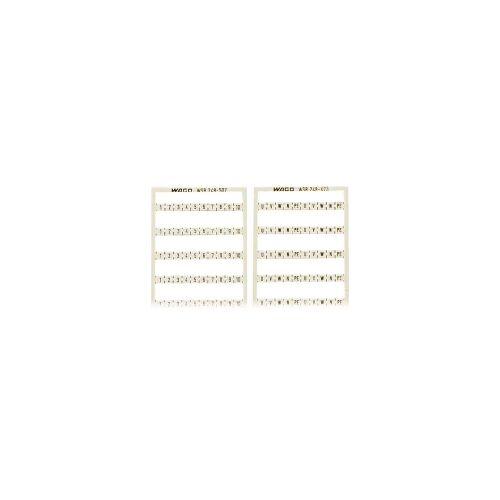WAGO 248-502  (5 Stück) - WSB-Bezeichnungssystem W: 1-10 (10x) 248-502