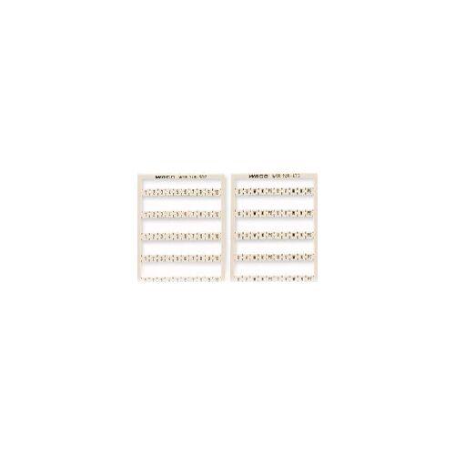 WAGO 248-507  (5 Stück) - WSB-Bezeichnungskarte W: 51-100 (2x) 248-507