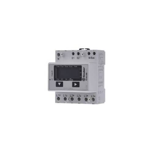 Finder 7E.46.8.400.0022  - Wirkstromzähler LCD-MBUS 7E.46.8.400.0022