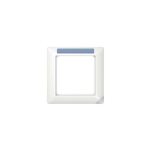 Jung AS 584 BF INA WW  - Rahmen, 4fach senkr. sprühnebeldi.Fenster AS 584 BF INA WW