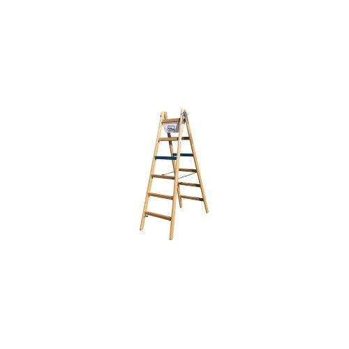 Geis & Knoblauch (ILLER) 1106-7  - Breitsprossenstehleiter Professional 2x6 Sp. 1106-7