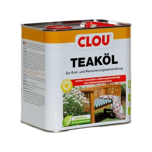 CLOU 2,5L Clou Teaköl farblos