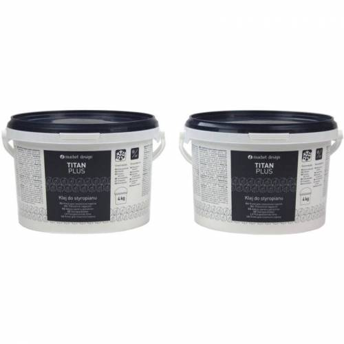 MARBET DESIGN Polystyrolkleber   Deckenplatten   frostfest   Titan Plus:8kg