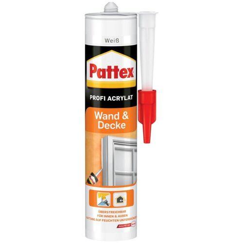 HENKEL 12 Stück Henkel Pattex Wand+Decke Acryl 300 ml, weiß
