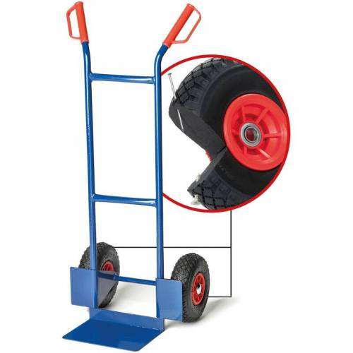 PRO-BAU-TEC Sackkarre Junior PU mit PU-Rädern - Pro-bau-tec