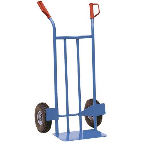 SCHAKE Stahlrohrsackkarre 300kg Tragkraft 400x160mm Luftrad - Schake