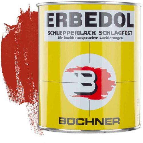 ERBEDOL Schlepperlack   FEUERROT   ANNABURG-ROT   RAL 3000   0,75 l