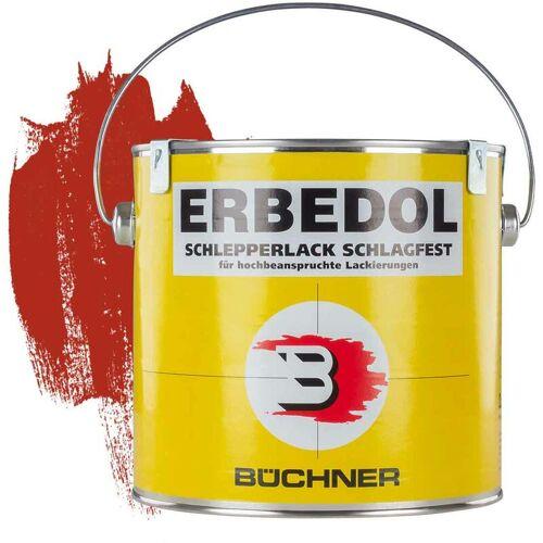 Erbedol - Schlepperlack   FEUERROT   ANNABURG-ROT   RAL 3000   2,5 l