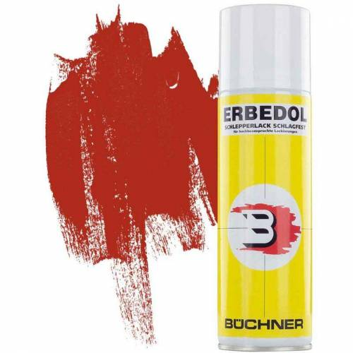 ERBEDOL Schlepperlack   FEUERROT   ANNABURG-ROT   RAL 3000   Sprühdose   0,3 l