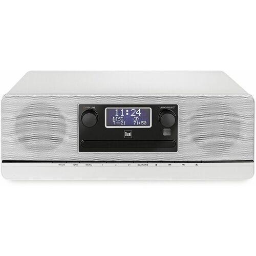 Dual Stereoanlage DAB 420 BT, silber, DAB+, Bluetooth - Dual