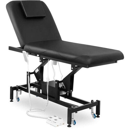 Physa - Massageliege Massagetisch Massagebank Therapieliege Elektrisch 2 Zonen Schwarz