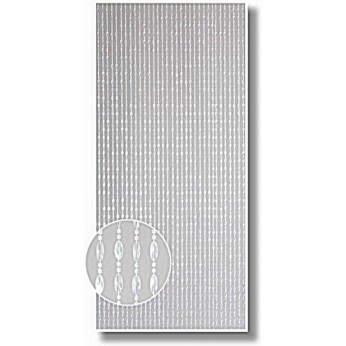 Conacord - Türvorhang Vorhang Perlenvorhang Dekorationsvorhang Raumteiler Kristal transparent