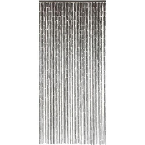 Conacord - Türvorhang Bambusvorhang Taupe Deko Vorhang Bambus Raumteiler Fliegenvorhang