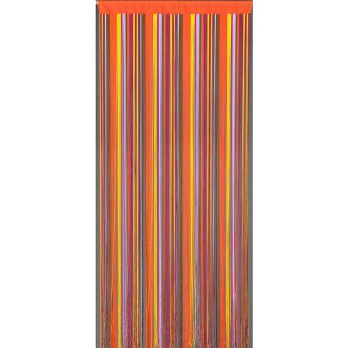 CONACORD Fadenvorhang Finca Türvorhang Dekovorhang bunt Fliegenvorhang Raumteiler Vorhang
