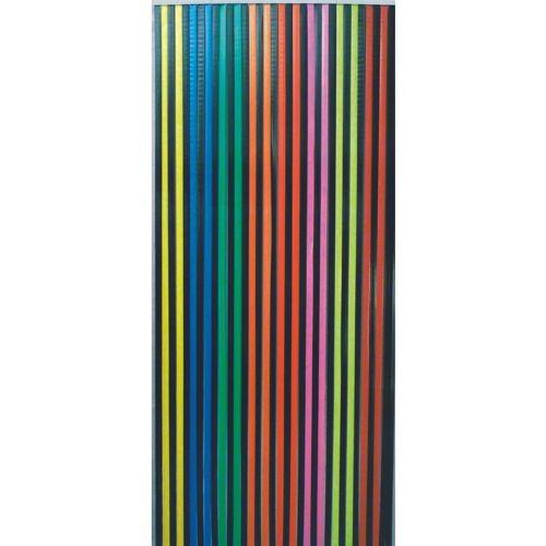 Conacord - Streifenvorhang PVC Türvorhang Fliegenvorhang Multicolor Wohnwagen Vorhang Kunststoffvorhang