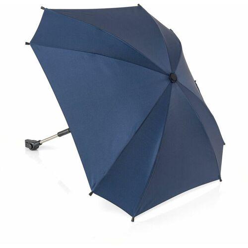 REERGMBH reer ShineSafe Kinderwagen-Sonnenschirm, Sonnen Schirm, Sonnenschutz, UV Schutz, Kinderwagen, Blau, 84163