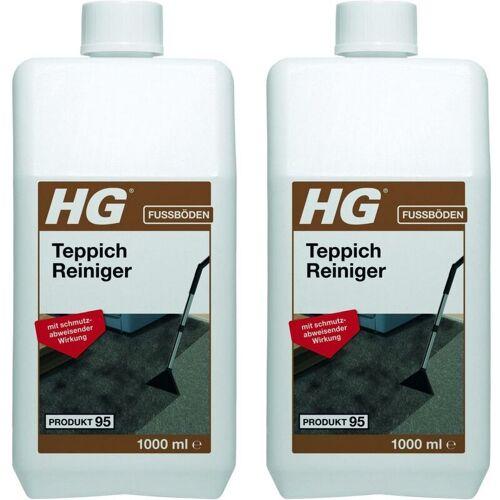 HG Teppich- und Polsterreiniger 2x 1 Liter - DIE Teppichreinigung