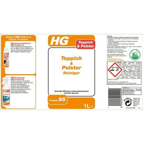 HG Teppich- und Polsterreiniger 6x 1 Liter - DIE Teppichreinigung