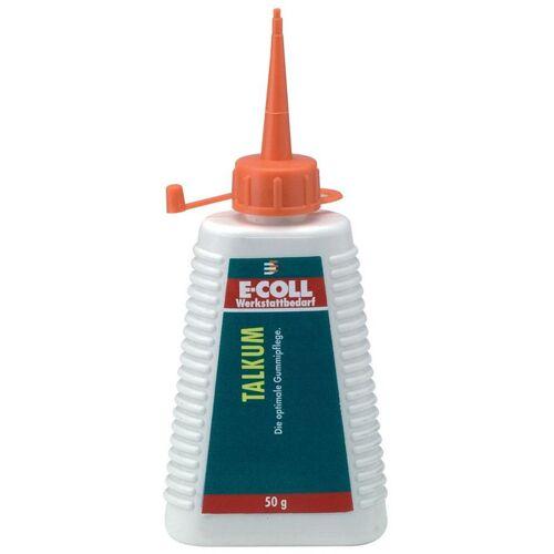 E-COLL 10 Stück E-COLL Talkum 50g Flasche