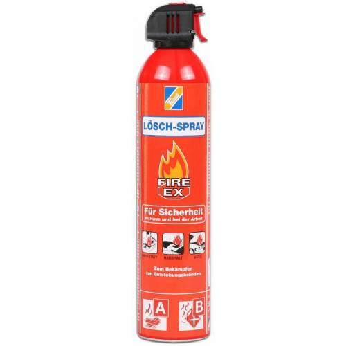 TECHNOLIT Lösch-Spray Fire Ex 500 ml, Löschspray, Feuerlöschspray, Feuerlöscher, Löschmittel - Technolit