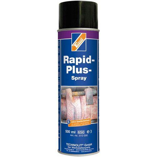 TECHNOLIT Rapid-Plus-Spray 500ml, Rostlöser, Rostentferner, Demontage, löst rostige Verbindungen - Technolit