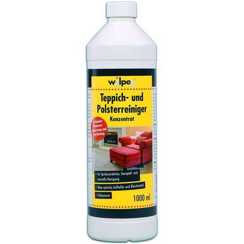 WILPEG Teppichreiniger Polsterreiniger Teppichpflege 1L inkl. Dosierkopf - Wilpeg