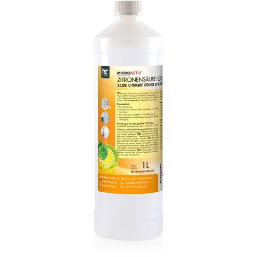 HöFER CHEMIE 6 x 1 Liter Zitronensäure 50% in 1 L Flaschen
