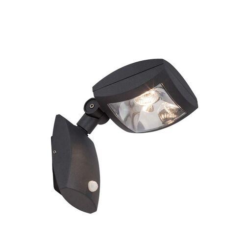 AEG GUARDIANO LED Wandleuchte Lotuseffekt 33 cm Anthrazit Bewegungsmelder 290005 - AEG