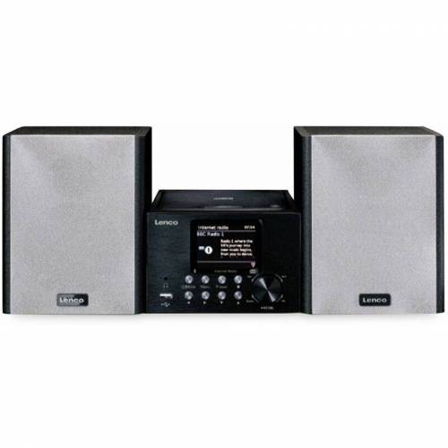 Lenco Stereoanlage MC-250, schwarz, DAB+, Bluetooth, CD/MP3-Player - Lenco