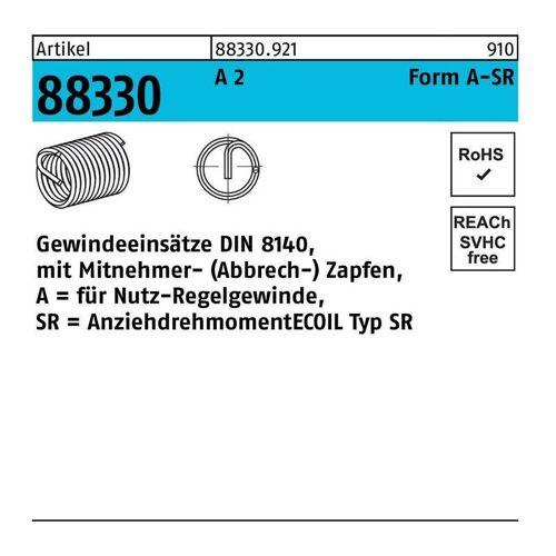 AMECOIL Gewindeeinsatz R 88330 Form A M 10 x 20 A 2