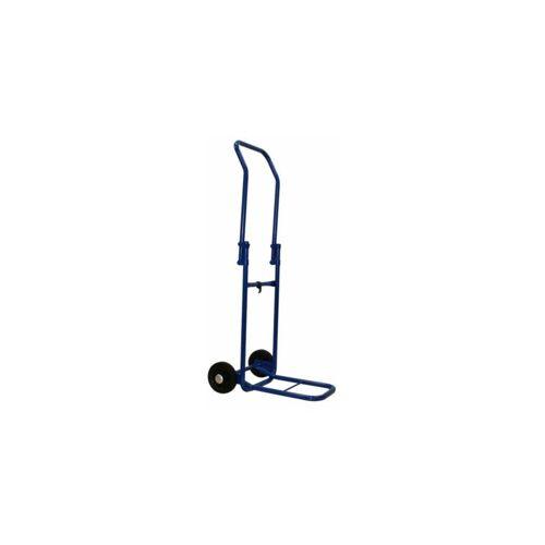 CERTEO Faltbare Sackkarre mit klappbarer Schaufel - Tragkraft bis 120 kg