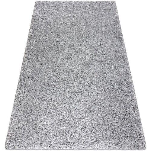 RUGSX Teppich SUPREME 51201140 shaggy 5cm silber Grau und Silbertönen 140x200 cm
