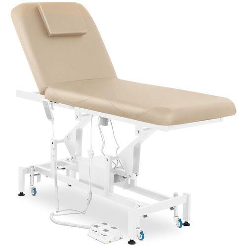 Physa - Massageliege Massagetisch Massagebank Therapieliege Elektrisch 2 Zonen Beige