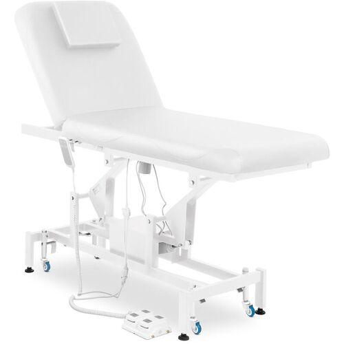 Physa - Massageliege Massagetisch Massagebank Therapieliege Elektrisch 2 Zonen Weiß