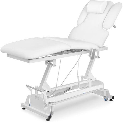 Physa - Massageliege Massagetisch Massagebank Therapieliege Elektrisch 3 Zonen Weiß