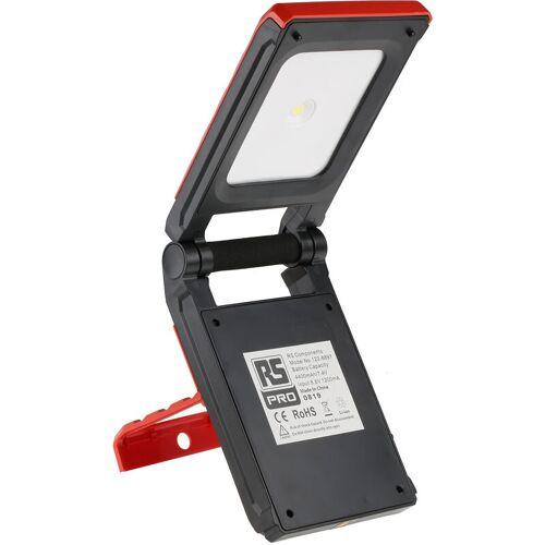 RS PRO LED Akku Baustrahler 10 W / 7,4 V, 209 mm x 127 mm - Rs Pro