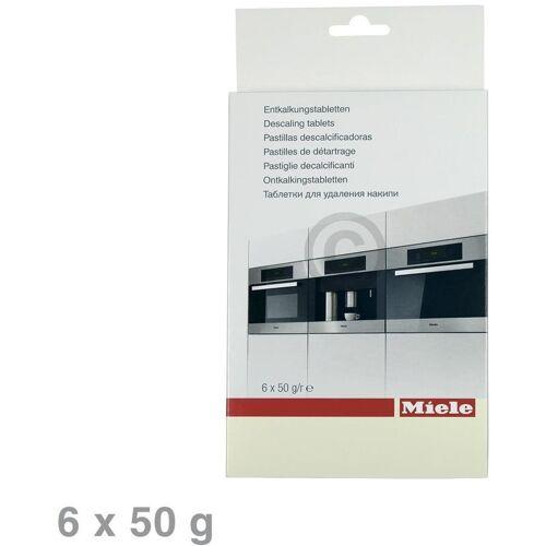 Miele Entkalker Tabs 6x50g für Kaffeevollautomaten 10178330