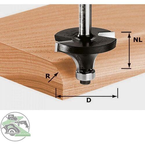 Festool Abrundfräser Fräser HW Schaft 8 mm D42,7/R15 KL 491017 Oberfräse OF 1400