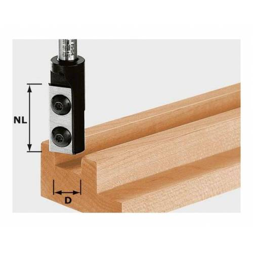Festool Nutfräser-Wendeplatten HW S8 D12/30 WP Z1 ? 491080