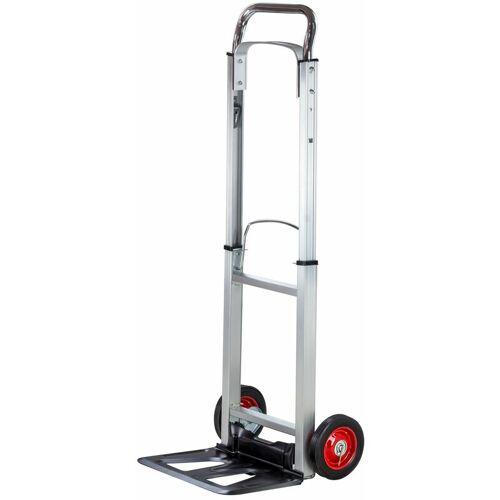 DEMA Alu Sackkarre Transportkarre Stapelkarre Karre klappbar bis 90kg Vollgummireifen